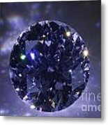 Black Diamond Metal Print by Atiketta Sangasaeng
