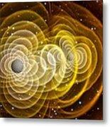 Black Holes Merging Metal Print