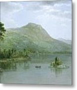 Black Mountain From The Harbor Islands - Lake George Metal Print