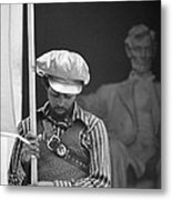 Black Panthers At The Lincoln Memorial - 1970 Metal Print