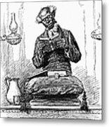 Black Preacher, 1890 Metal Print