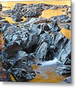 Black River Reflections At Johnsons Shut Ins State Park Vi Metal Print