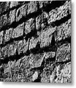 Black Wall Metal Print