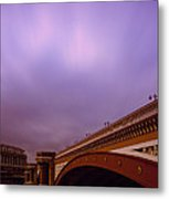 Blackfriars Bridge Metal Print