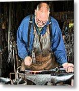 Blacksmith Metal Print