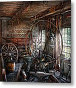Blacksmith - That's A Lot Of Hoopla Metal Print
