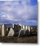 Blacksod Point, Co Mayo, Ireland Stone Metal Print