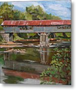 Blair Bridge Campton New Hampshire Metal Print