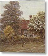 Blake's House Hampstead Heath Metal Print