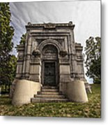 Blatz Family Mausoleum Metal Print