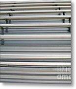 Bleachers Metal Print