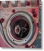 Bleed The Metal  Metal Print