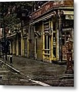 Bleeker Street Seven Am Metal Print