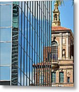 Blending Architecture  Metal Print