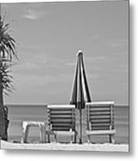 Bliss Is The Beach Metal Print