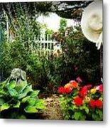 Blissful Garden Metal Print