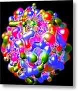 Blob Of Color... Metal Print