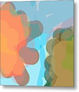 Blobs Listen To The Shofar Metal Print