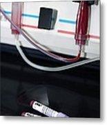 Blood Apheresis Machine Metal Print