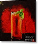 Bloody Mary Coctail Metal Print