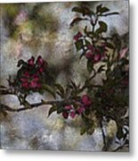 Blooming Branches Metal Print