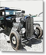 Blown Coupe Metal Print
