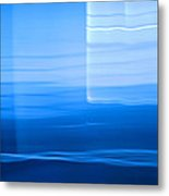 Blue Abstract 1 Metal Print