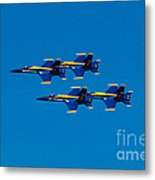 Blue Angels 2 Metal Print