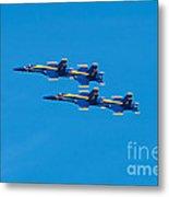 Blue Angels 3 Metal Print