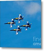 Blue Angels 4 Metal Print