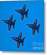 Blue Angels 8 Metal Print