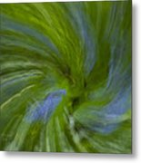 Blue Bells Vortex 4 Metal Print