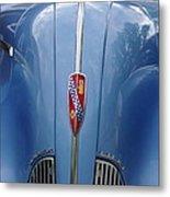 Blue Buick Metal Print