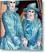 Blue Cane Duo Metal Print