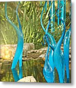 Blue Haze Metal Print