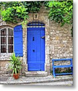 Blue In Provence France Metal Print
