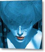 Blue Kiss Metal Print