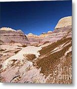 Blue Mesa Landscape Metal Print