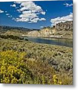 Blue Mesa Reservoir - V Metal Print