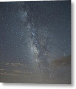 Blue Milky Way Metal Print