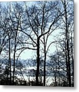 Blue Mirage Metal Print