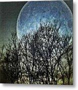Blue Moon Metal Print