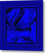 Blue Morass Metal Print