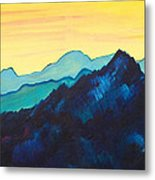 Blue Mountain II Metal Print by Silvie Kendall