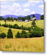 Blue Ridge Farm - 1 Metal Print
