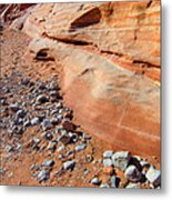 Blue Rocks Metal Print