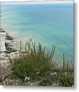 Blue Sea From Seven Sisters Metal Print