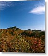 Blue Sky And Thin Clouds Metal Print