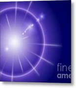 Blue Star Metal Print
