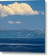Blue Tahoe Metal Print